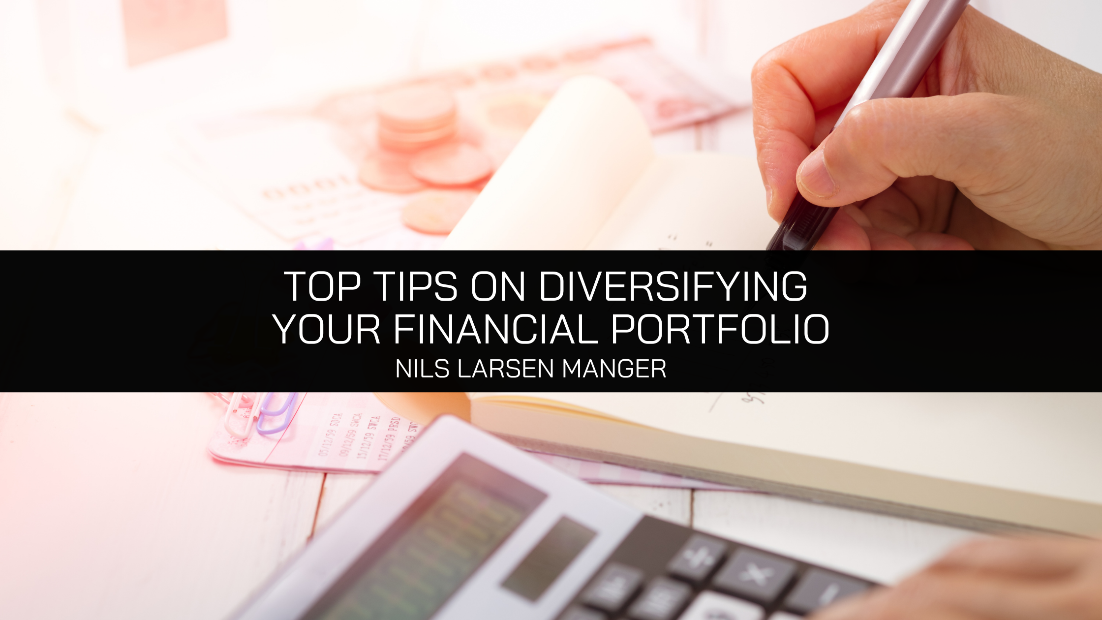 Nils Larsen Manager Shares His Top Tips On Diversifying Your Financial Portfolio